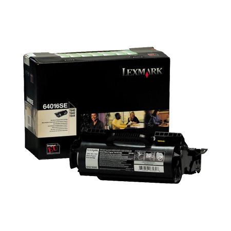 Lexmark 0064016SE Original Black Return Program Toner Cartridge