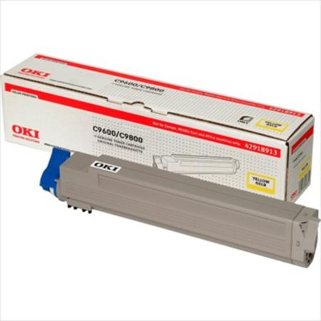 OKI 42918913 Original Yellow Toner Cartridge