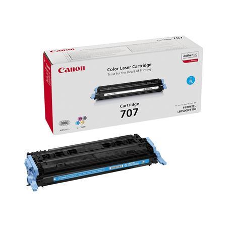 Canon 707C Cyan Original Laser Toner Cartridge