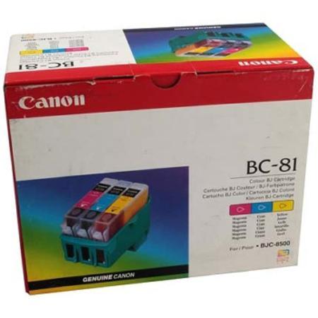 Canon BC-81 Colour Original Cartridge