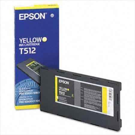 Epson T512 (T512011) Colorfast Yellow Original Ink Cartridge