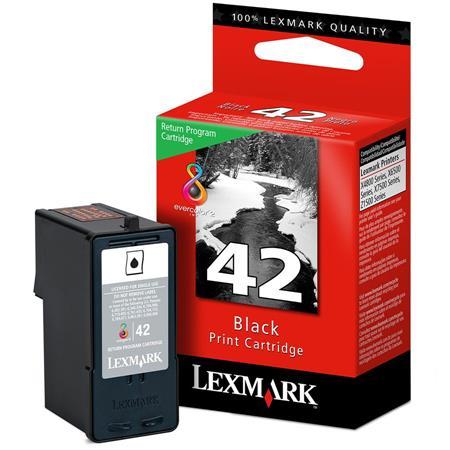 Lexmark No.42A Black Original Ink Cartridge (18Y0342E)