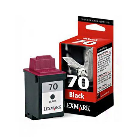Lexmark No.70 Black Original Standard Yield Ink Cartridge