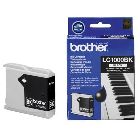 Brother LC1000BK Black Original Print Cartridge