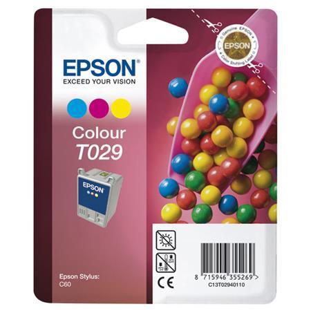 Epson T029 (T029040) Colour Original Ink Cartridge (Sweet)