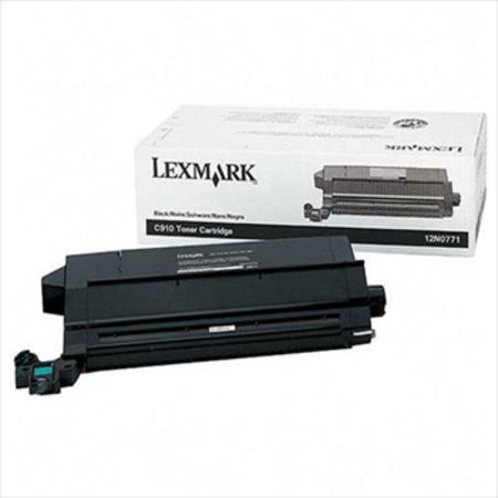 Lexmark 12N0771 Original Black Toner Cartridge