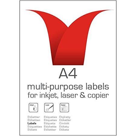 Value Multipurpose Label 99.1x93.1mm 6 Per Sht (600 Labels)