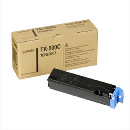 Kyocera TK-500C Original Cyan Toner Cartridge