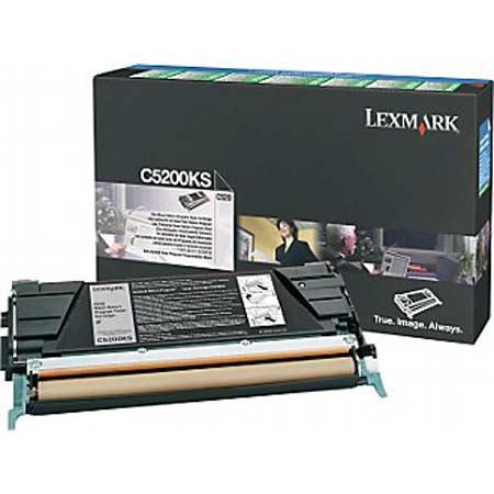 Lexmark C5200KS Original Black Return Program Toner Cartridge