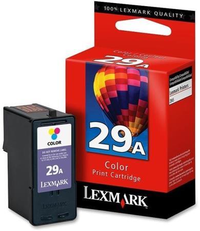 Lexmark No.29A Original Colour Ink Cartridge (18C1529E)