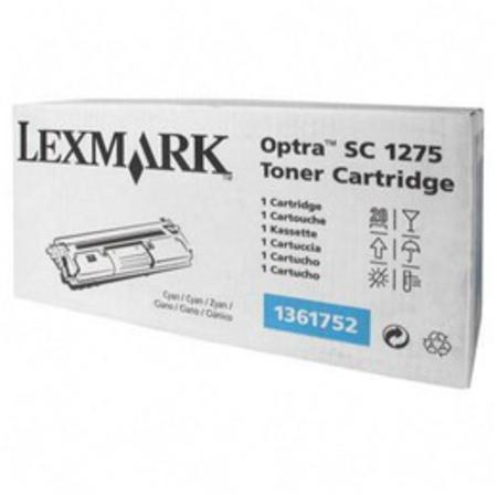 Lexmark 1361752 Original Cyan Toner Cartridge