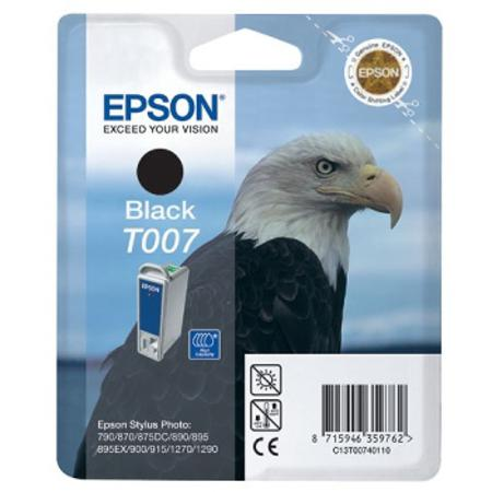 Epson T007 (T007401) Black Original Ink Cartridge (Eagle)