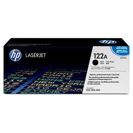 HP Colour LaserJet 122A Black Original Toner Cartridge with Smart Printing Technology (Q3960A)
