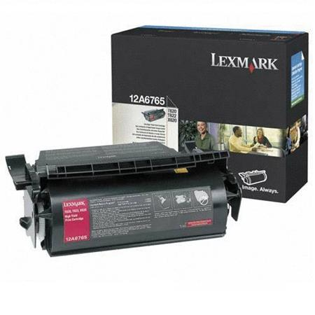 Lexmark 12A6765 Original Black High Capacity Toner Cartridge