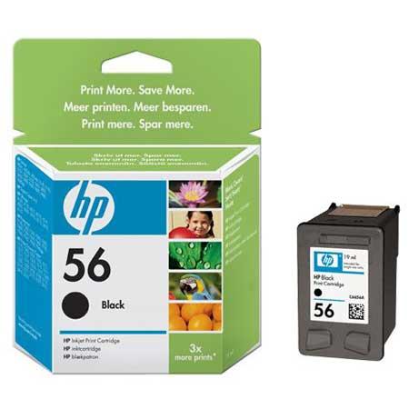 HP 56 Black Original Inkjet Print Cartridge