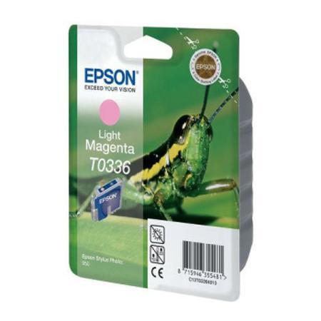Epson T0336 (T033640) Light Magenta Original Ink Cartridge (Grasshopper)