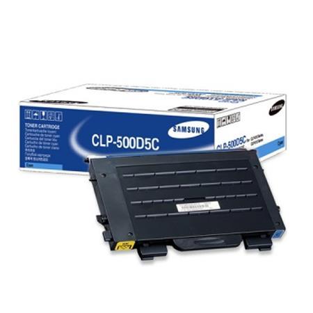 Samsung CLP-500D5C Original Cyan Toner Cartridge