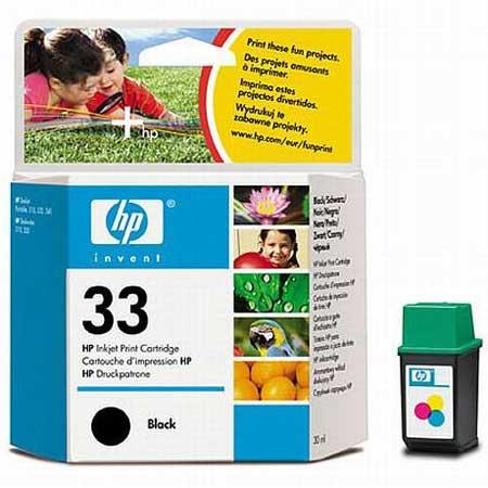 HP 33 Black Original Inkjet Print Cartridge
