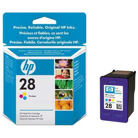 HP 28 Tri-Colour Original Inkjet Print Cartridge