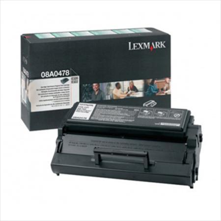 Lexmark 08A0478 Original Black Toner Cartridge