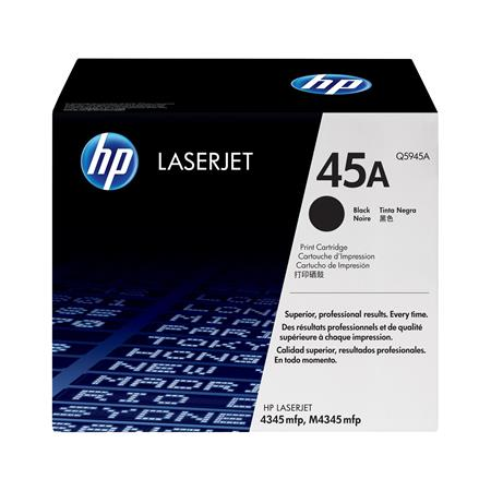 HP LaserJet Q5945A Original Black Standard Capacity Toner Cartridge with Smart Printing Technology