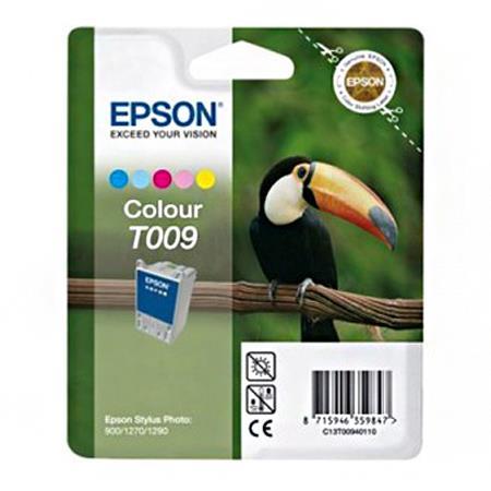 Epson T009 (T009401) Colour Original Ink Cartridge (Toucan)