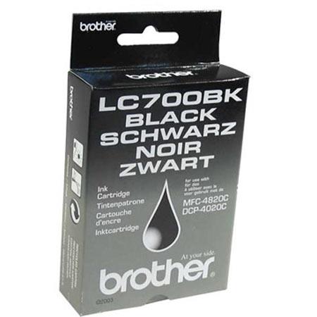 Brother LC700BK Black Original Print Cartridge