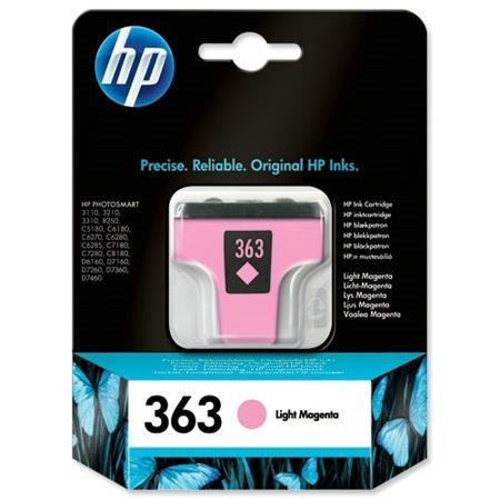 HP 363 Light Magenta Original Ink Print Cartridge
