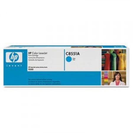 HP Colour LaserJet C8551A Cyan Original Print Cartridge with Smart Printing Technology