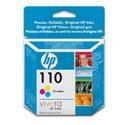 HP 110 Tri-colour Original Inkjet Print Cartridge with Vivera Inks