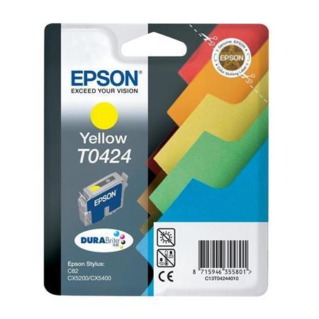 Epson T0424 (T042440) Yellow Original Ink Cartridge (Files)