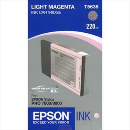 Epson T5636 (T563600) Light Magenta High Capacity Original Ink Cartridge