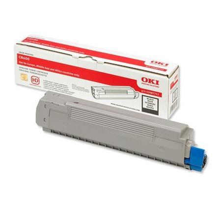 OKI 43487712 Original Black Toner Cartridge