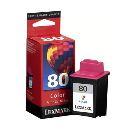 Lexmark No. 80 Colour Standard Yield Original Ink Cartridge