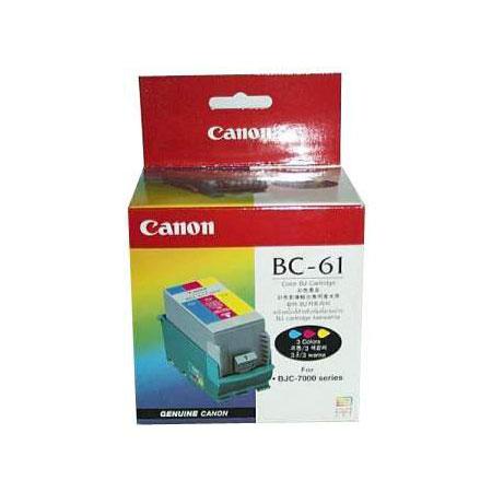 Canon BC-61 Colour PrintHead with Colour Original Ink Tank
