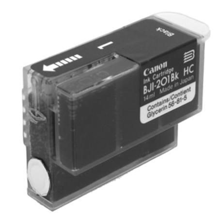 Compatible Black Canon BJI-201K Ink Cartridge (Replaces Canon BJI-201BK)