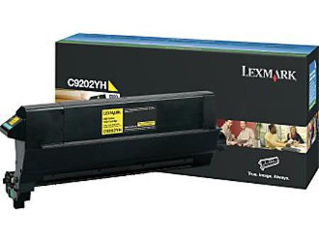 Lexmark C9202YH Original Yellow Toner Cartridge