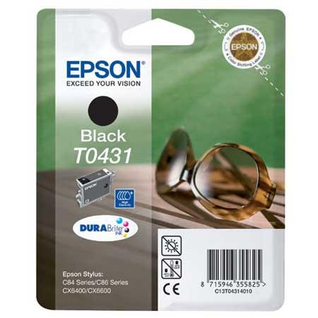 Epson T0431 (T043140) Black High Capacity Original Cartridge (Sunglasses)