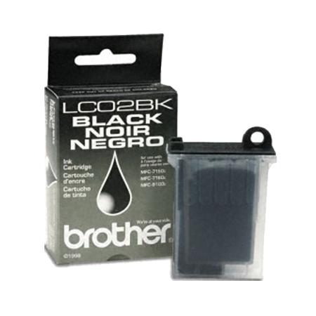 Brother LC02BK Black Original Print Cartridge