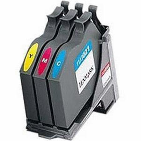 Lexmark 11J3010 Colour Original Printhead inc Colour Ink Cartridge