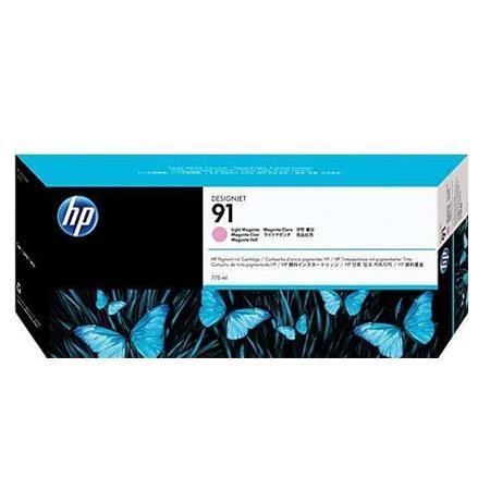 HP 91 Pigmented Light Magenta Original Ink Cartridge with Vivera Ink