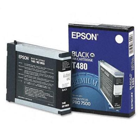 Epson T480 (T480011) Black Original Cartridge