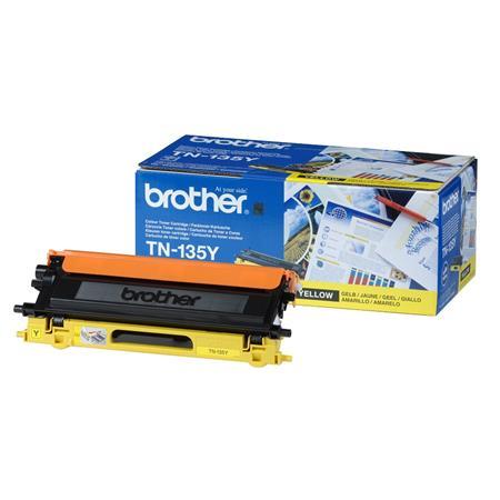 Brother TN135Y Yellow Original High Capacity Toner Cartridge