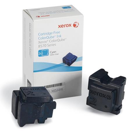 Xerox 108R00931 Cyan Original 2 Sticks Ink Cartridge (8570)