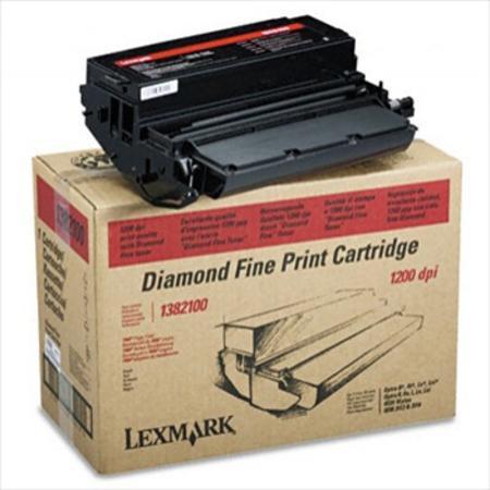 Lexmark 1382100 Original Black Diamond Fine Standard Capacity Toner Cartridge