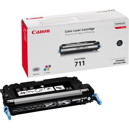 Canon 711BK Black Original Laser Toner Cartridge