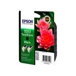 Epson T013 (T013402) Black Original Ink Cartridge Twin Pack (Pink Flower)