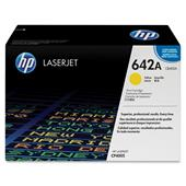 HP Colour Laserjet 642A Yellow Toner Cartridge with HP Colorsphere Toner (CB402A)