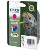 Epson T0793 (T079340) Magenta Original Ink Cartridge (Owl)