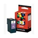Lexmark No.33 Colour Original Ink Cartridge (18CX033E)